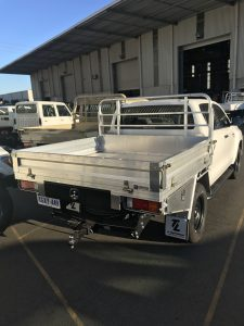 UTE TRAY – HEAVY DUTY ALUMINIUM PERTH WA