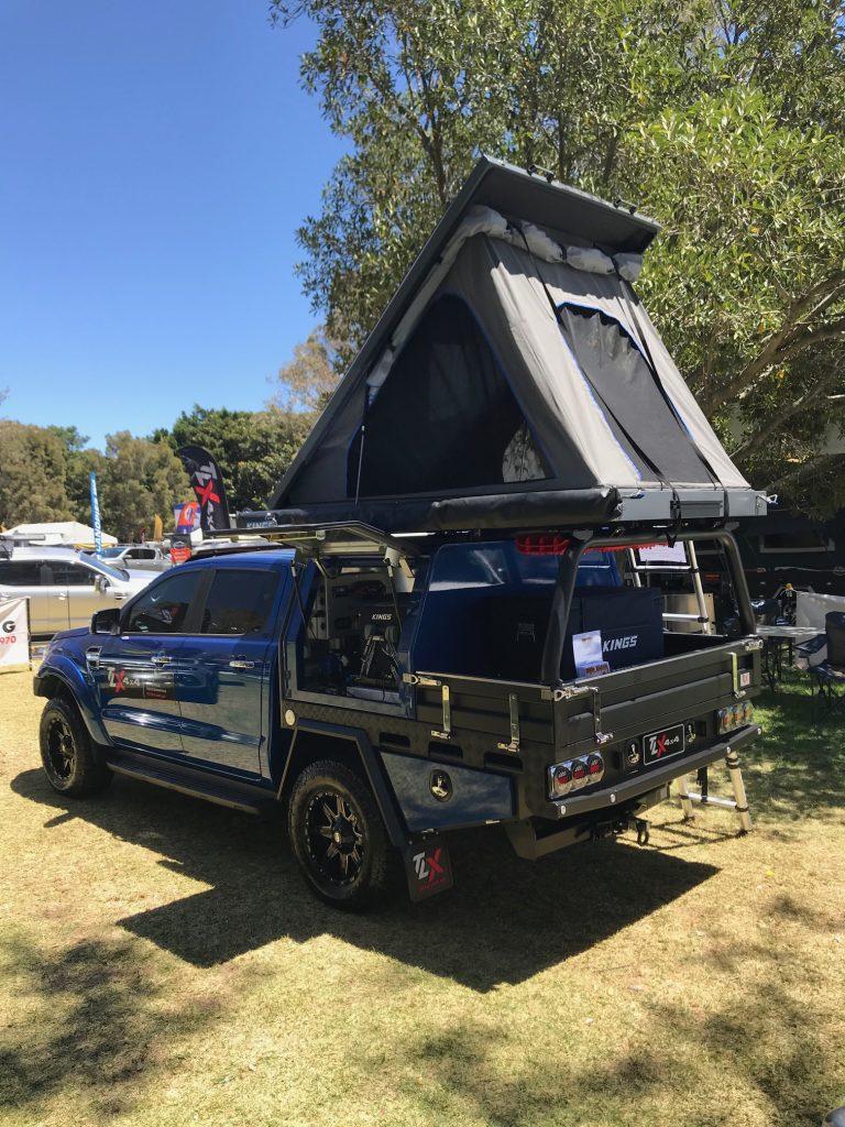 TLX Heavy Duty Alloy Tray Perth 4WD Show 2020