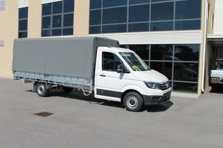 VW Crafter Heavy Duty Alloy Tray and Canopy Package