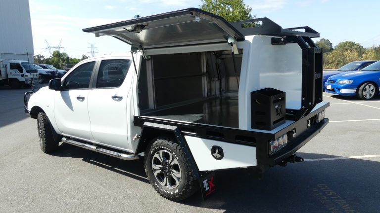 Mazda BT50 Chassis Mount TLX Canopy