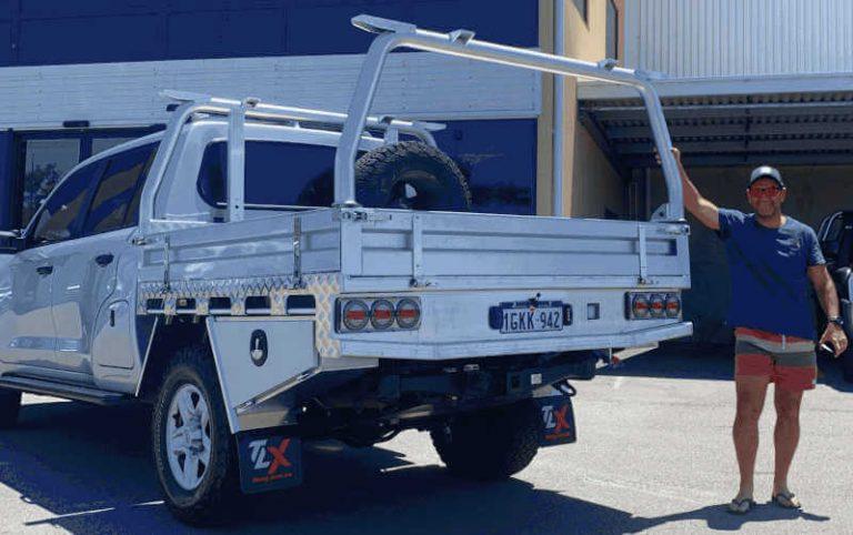 200 Series TLX Heavy Duty Aluminium Ute Tray Perth