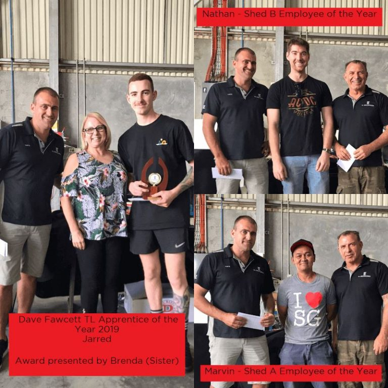 TL 2019 Employee Awards Perth