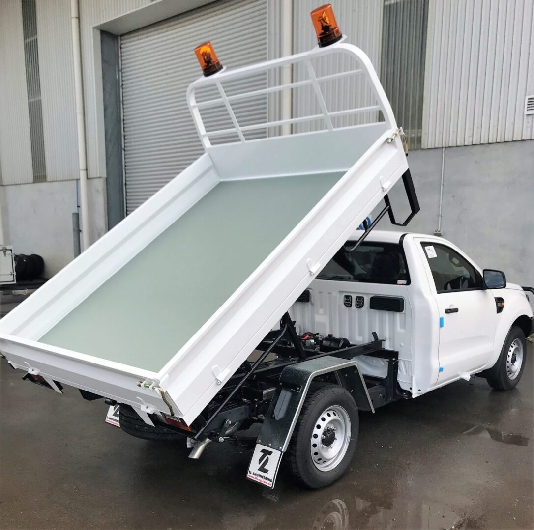 Ute modification upgrade to a small tip truck made for sale in Perth
